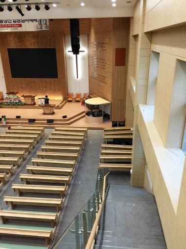드럼부스 Type D 시흥광진교회